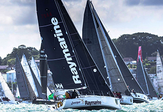 Raymarine systems are a racing certainty