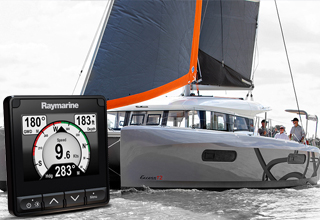 Raymarine Electronics Chosen as Standard Equipment on Excess Catamaran