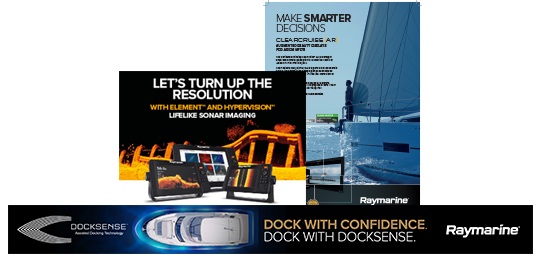Approved Raymarine Print and Web Adverts | Raymarine - A Brand by FLIR