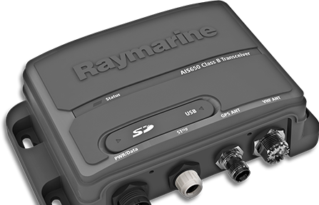 AIS650 Transceiver and Raymarine AIS350 Receiver | Raymarine by FLIR