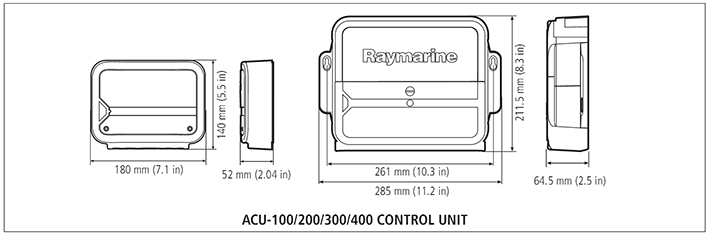 ACU Specifications | Raymarine