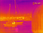 Fusion thermal image
