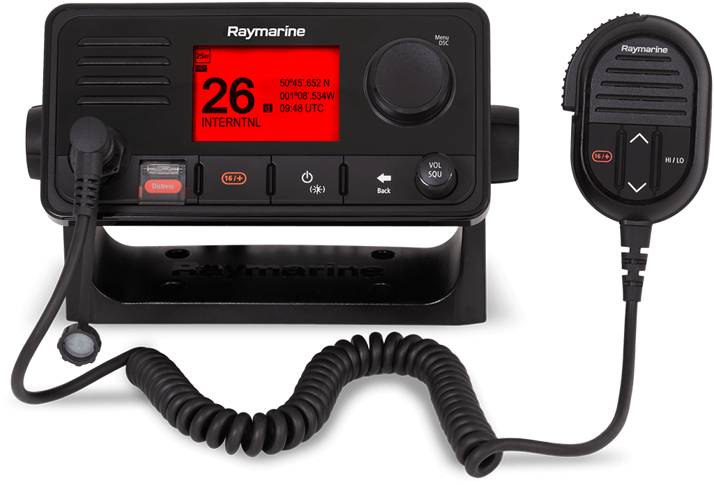 NEW Ray73 Dual Station VHF Radio with GPS | Raymarine - A Brand by FLIR