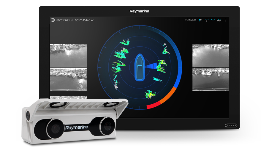 NEW DockSense - Assisted Docking Technology | Raymarine by FLIR