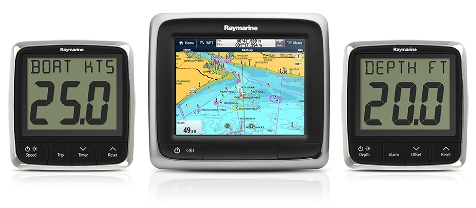 i50 with aSeries Multifunction Display | Raymarine