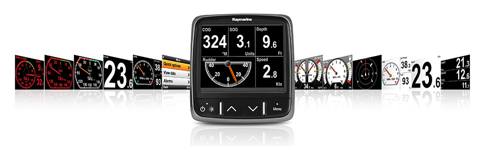 i70 LightHouse User Interface | Raymarine