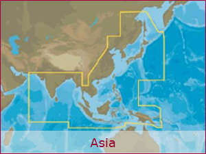 C-MAP Cartography - Asia Bundle | Raymarine