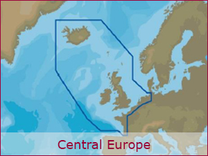 C-MAP Cartography - C.Europe Bundle | Raymarine
