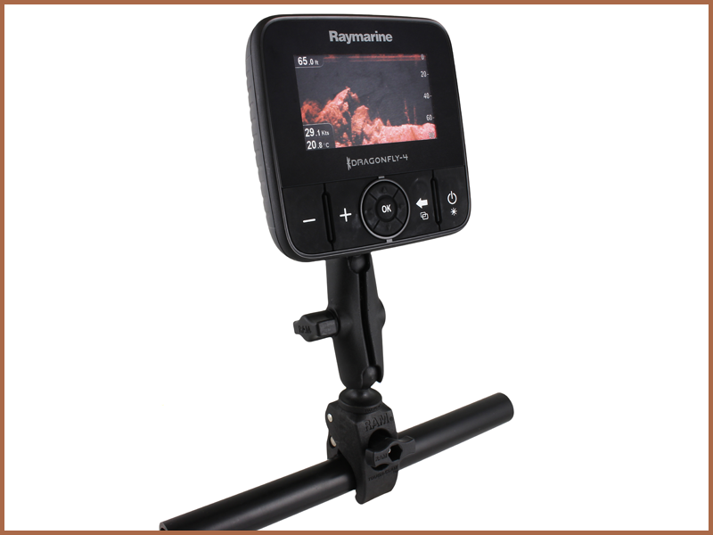 RAM Small Tough-Claw™ Base - Dragonfly 4, 5, 7 and Wi-Fish | Raymarine - A Brand by FLIR