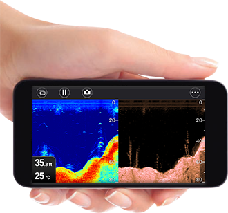 WiFish Connect and Share | Raymarine Dragonfly