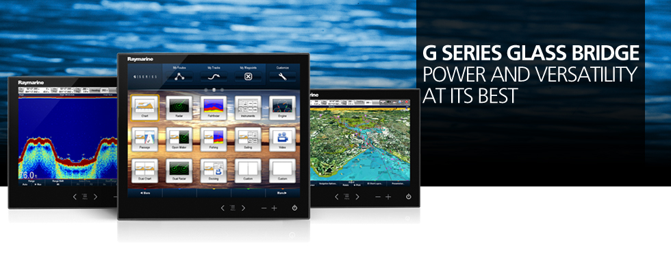 Raymarine G Series Multifunction Navigation Banner