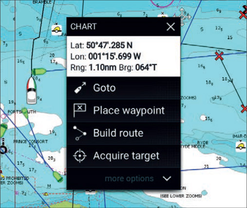 LightHouse 3 User Interface | Raymarine by FLIR