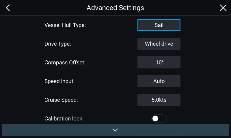Advanced Evolution Autopilot Settings | Raymarine by FLIR