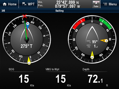 Instrument Displays | Raymarine