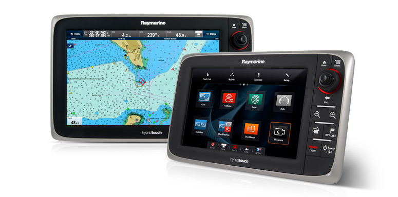 e9 and e12 with LightHouse II | Raymarine