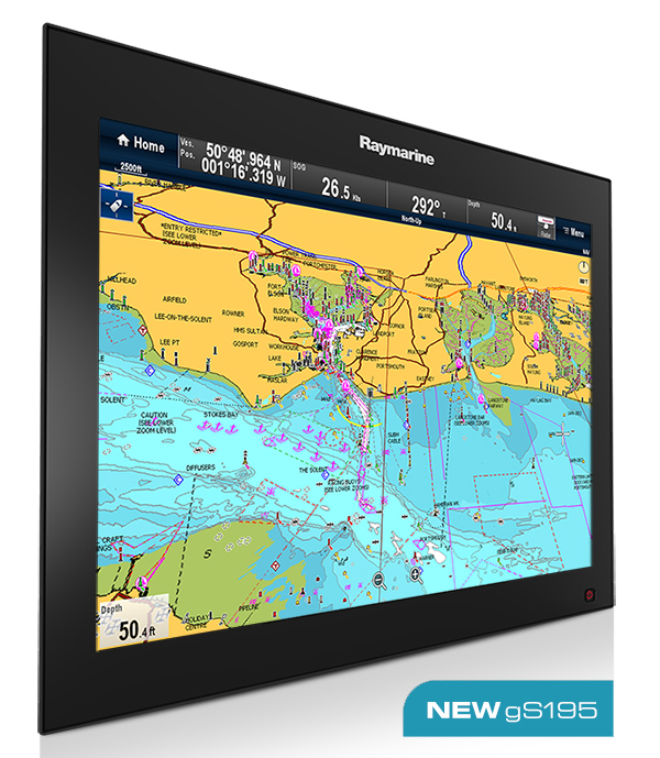 gS195 - New 19 Display | Raymarine