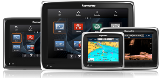 Sonar Transducers for aSeries Multifunctions Displays | Raymarine