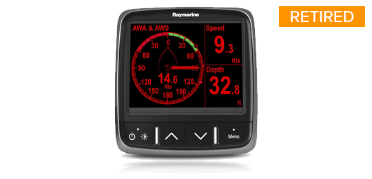 i70 Instrument Display Media Resources | Raymarine