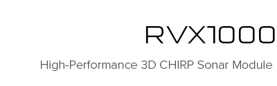 RVX1000 - High-Performance 3D CHIRP Sonar Module | Raymarine - A Brand by FLIR