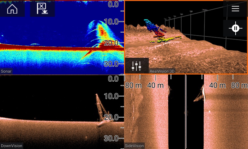 RVX1000 - All in one sonar | Raymarine - A Brand by FLIR