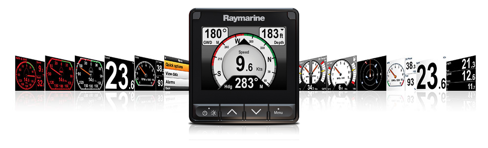 i70s LightHouse User Interface | Raymarine by FLIR