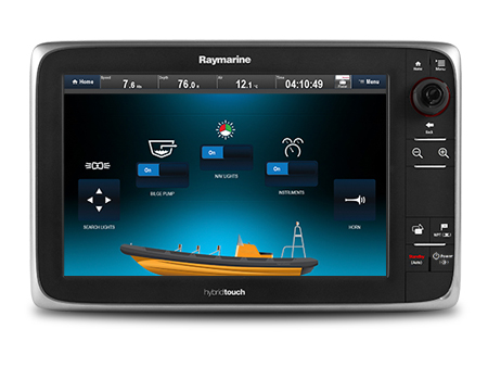 Digital Switching on eSeries | Raymarine