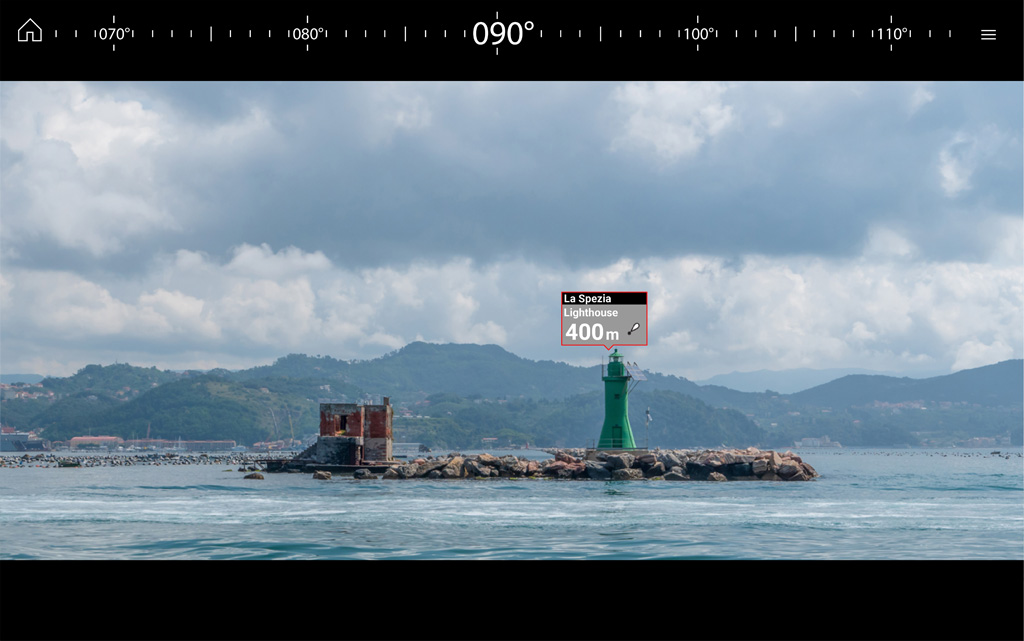 LH3.7 ClearCruise AR - See Your Waypoints | Raymarine - A Brand by FLIR