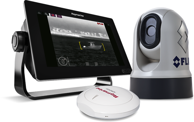 LightHouse 3.10 - Enhancements for Thermal Cameras | Raymarine - A Brand by FLIR